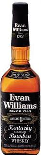 Evan Williams Whiskey Extra Aged Black Label 375ml